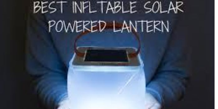 Best inflatable Solar Lantern