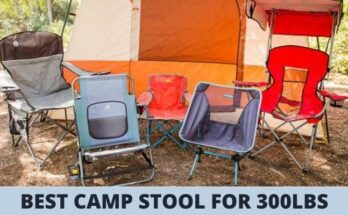 Best Camp stool for 300lbs
