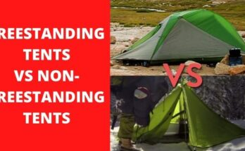 Freestanding vs non-freestanding tents