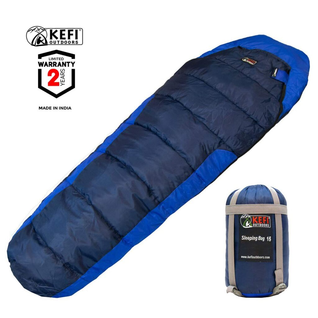 Kefi Outdoors Sleeping Bag Mummy Style