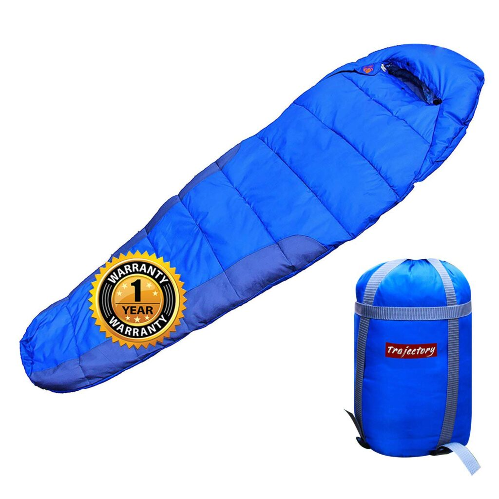 Trajectory Bonfire Sleeping Bag in Royal Blue